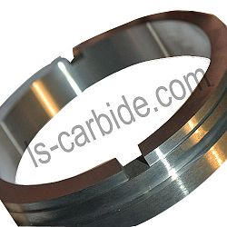 Tungsten carbide wear rings